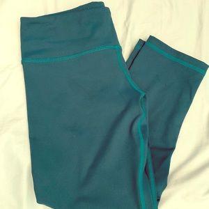 Buff Bunny turquoise leggings